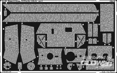 Zimmerit Panther Ausf.A Early für Dragon Bausatz