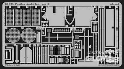 Panther Ausf.G late Für Dragon Bausatz