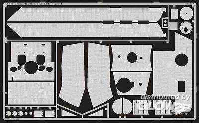Zimmerit Panther Ausf.A late für Dragon-Bausatz 6358