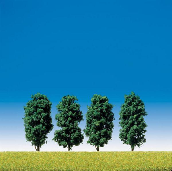 4 Laubbäume