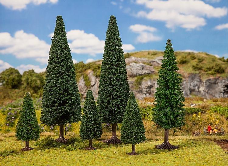20 Nadelbäume
