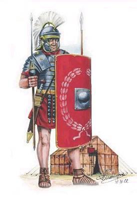 Roemische Legionaere