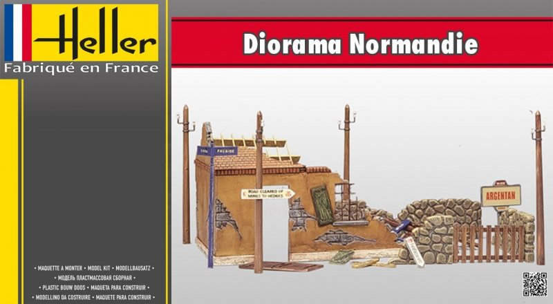 Diorama Normandie