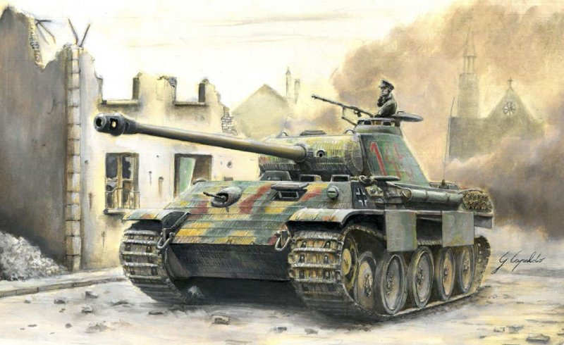 Dt. SdKfz.171 Panther Ausf.A