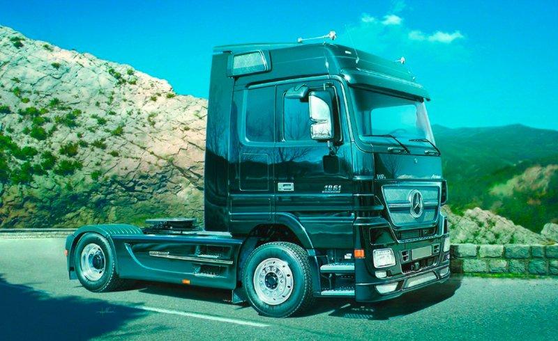 Mercedes-Benz Actros Black Edition