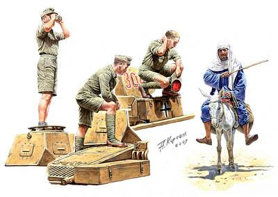 Deutsches Afrika Korps, WWII