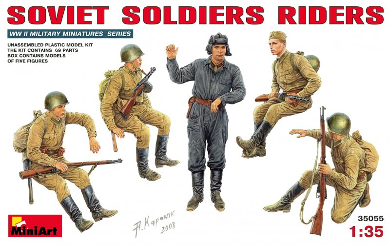 Sowjetische Soldaten (Mitfahrer)