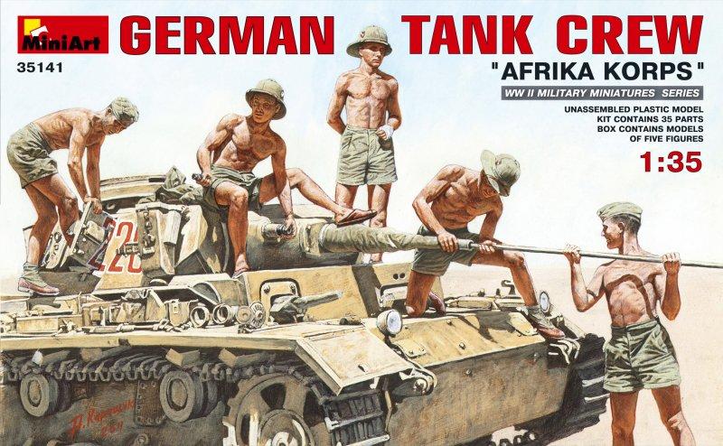 German Tank Crew Africa Korps