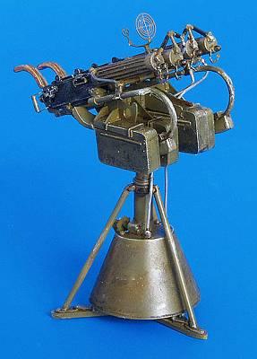 vierfaches Maschinengewehr Maxim