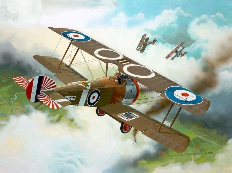 Sopwith F-1 Camel - Revell - RE 04190