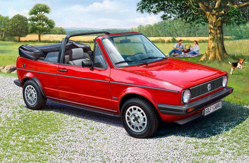 VW Golf 1 Cabrio