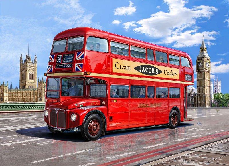 автобусы в Лондоне