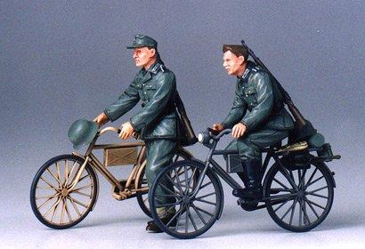 Diorama-Set Soldaten m.Fahrrad