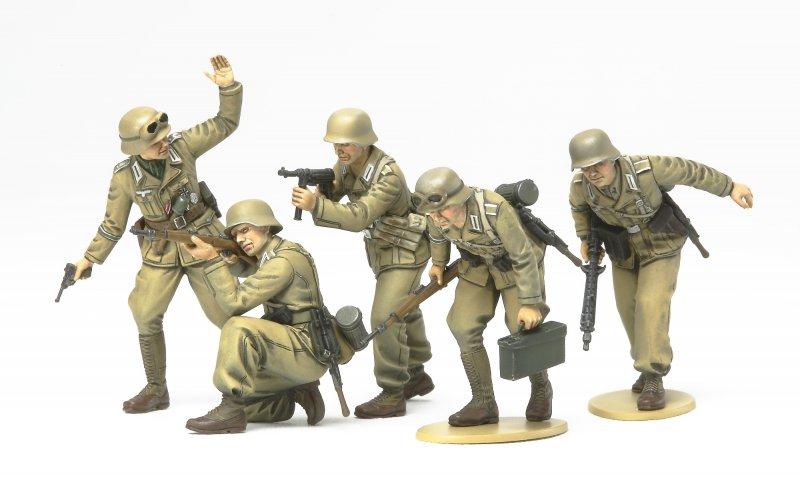 Figuren-Set Dt.Afrika Korps Infanterie
