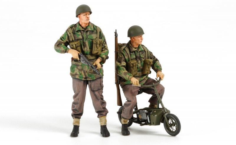 Brit. Fallschirmjäger m. Motor. (4)