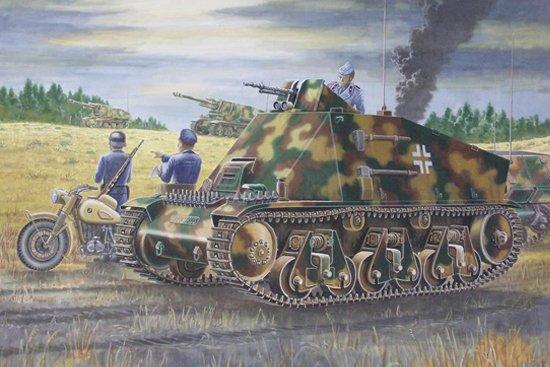 PzKpfw 38(H) Funk- u. Befehlswagen