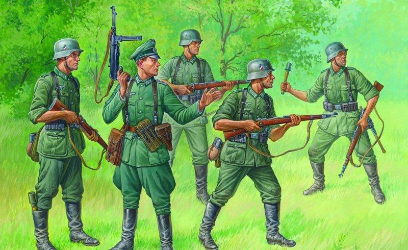 Deut. reguläre Infanterie 1939-42